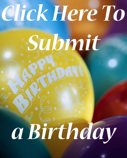 Click here to add a Birthday Announcement