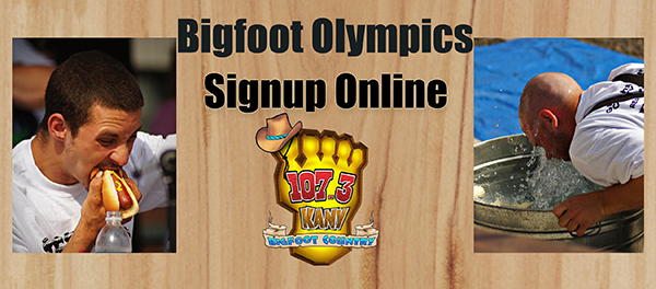Signup for the bigfoot olympics